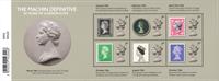 Great Britain - 50 years of the Machin design - Mint souvenir sheet