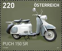 Austria - PUCH 150 SR - Mint stamp