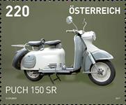 Østrig - PUCH 150 SR - Postfrisk frimærke