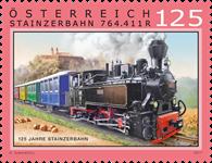 Østrig - 125år Stainzer banen - Postfrisk frimærke