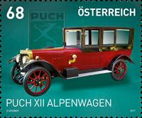 Austria - Puch XII Alpenwagen - Mint stamp