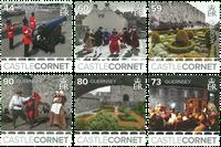 Guernsey - Castles - Mint set 6v