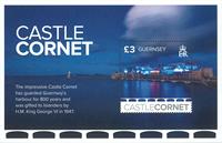 Guernsey - Castles - Mint souvenir sheet
