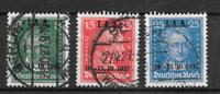 Deutsched Reich 1927 - AFA 405-407 - Leimattu