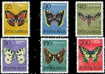 Jugoslavien - AFA 1058-63 stemplet