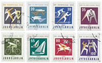 Yugoslavia - AFA 897-904 cancelled