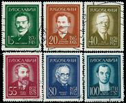 Jugoslavien - AFA 923-28 stemplet
