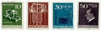 Yugoslavia - AFA 781-84 cancelled