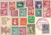 Cecoslovacchia - lotto di circa 20 doppi