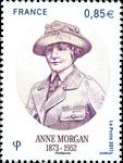 Frankrig - Anne Morgan - Postfrisk frimærke
