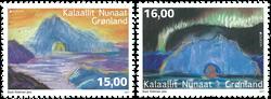 Grønland - Europa 2017 - Postfrisk sæt 2v