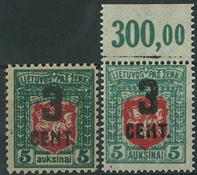 Lithuania - 1922-23