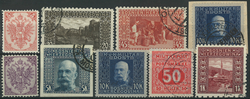 Bosnien-Herzegowina samling 1879-1918