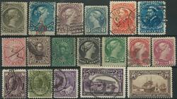 Canada samling 1851-1937