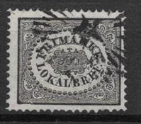 Sweden 1856 - AFA 6 - Cancelled