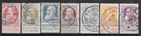 Belgien 1905 - AFA 71-77 - stemplet