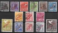 Berlin 1949 - AFA 21-34 - Cancelled