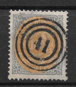 Danmark  1877 - AFA 31 - stemplet