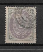 Danmark  1871 - AFA 17a - stemplet