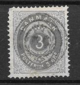 Danmark  1875 - AFA 22 a - stemplet