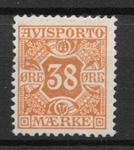 Danmark  1907 - Avisp. 6 - ustemplet