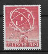 Berlin 1950 - AFA 71 - postfrisk