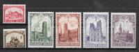 Belgien 1928 - AFA 244-249 - postfrisk