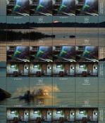 Åland - Saunatradition - Postfrisk gutter 8-stribe