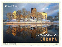 Åland Islands - Europa 2017 - Castle Kastelholm - Mint stamp