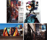 Australia - Street Art - Set of Maxi Cards