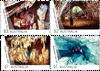 Australien - Grotter - Postfrisk sæt 4v