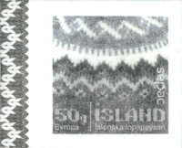 Iceland - Sweater / SEPAC - Mint stamp