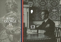 Jersey - King George VI - Mint souvenir sheet