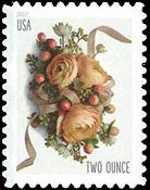 USA - Blomsterdekoration - Postfrisk frimærke