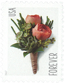 USA - Knaphulsbuket - Postfrisk frimærke