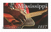 United States - Mississippi Statehood - Mint stamp