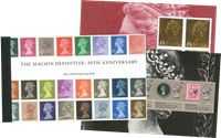 Great Britain - 50 years definitives type Machin - Mint prestige booklet