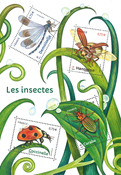 France - Insects - Mint souvenir sheet