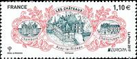 Frankrig - Europa - Postfrisk frimærke