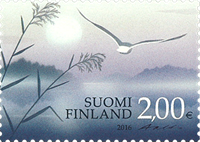 Finland - Wings of thoughts - Mint stamp