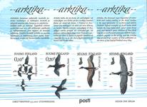 Finland - Arktiske fugle - Postfrisk miniark