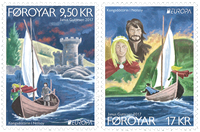 Faroe Islands - EUROPA 2017 - Castles - Mint set 2v