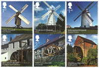Great Britain - Wind-and Watermills - Mint set 6v