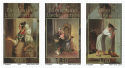 Liechtenstein - Fyrstens skatkammer - Postfrisk sæt 3v