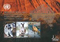 FN - Melbourne frimærkeudstilling - Postfrisk miniark