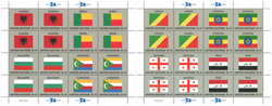 FN New York - Flag 2017 - Postfrisk sæt á 2 ark