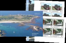 Alderney - Billeder fra Alderney - Postfrisk prestigehæfte
