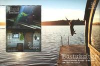 Åland - Saunatradition - Postfrisk miniark