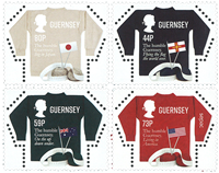 Guernsey - Sweaters - Mint set 4v
