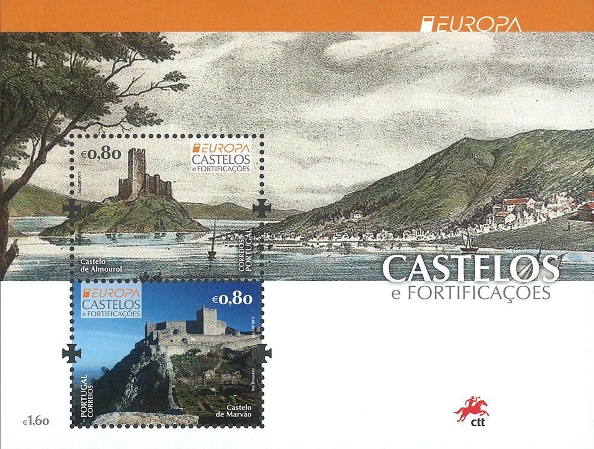 Portugal - Europa 2017 - Postfrisk miniark